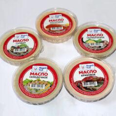 Масло: сельдевое, скумбриевое, гурман, лососевое, крабовое