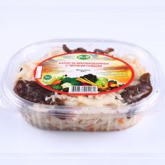 Капуста маринованная с чёрным грибом