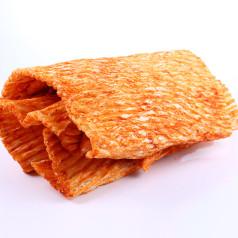 Пласт кальмара с перцем